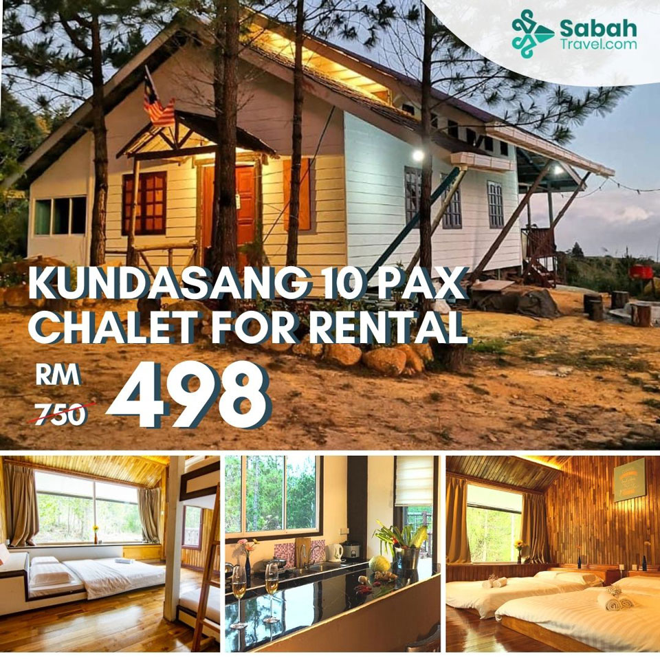 Kundasang 10pax Chalet For Rental
