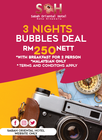3 Nights Bubbles Deal