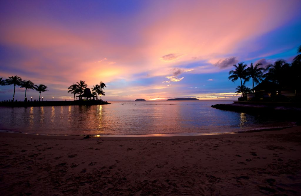 Beach Sunset in Sabah