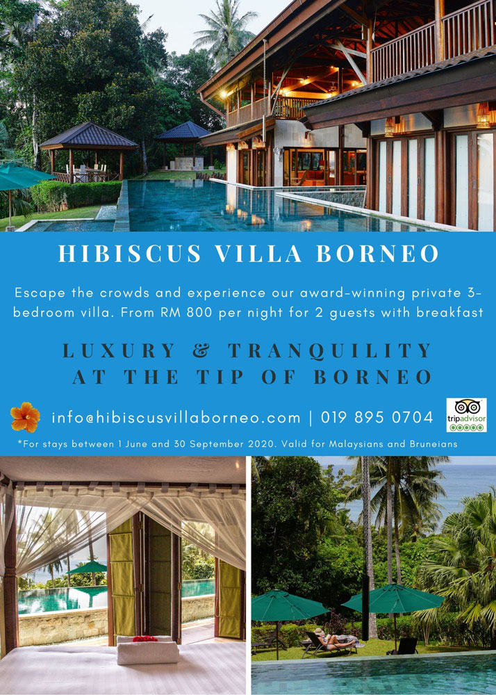 Luxury Villa At The Tip Of Borneo