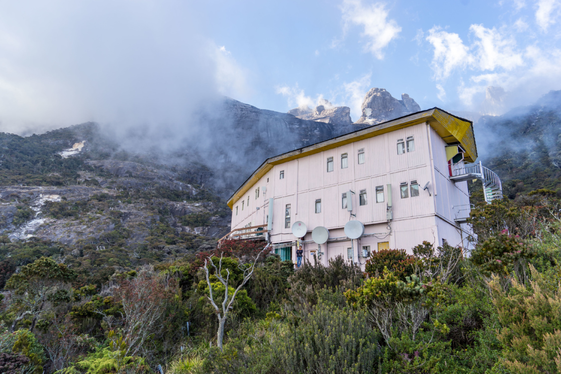 Laban Rata, the resthouse used by mountain climbers before and after climbing Mount Kinabalu.