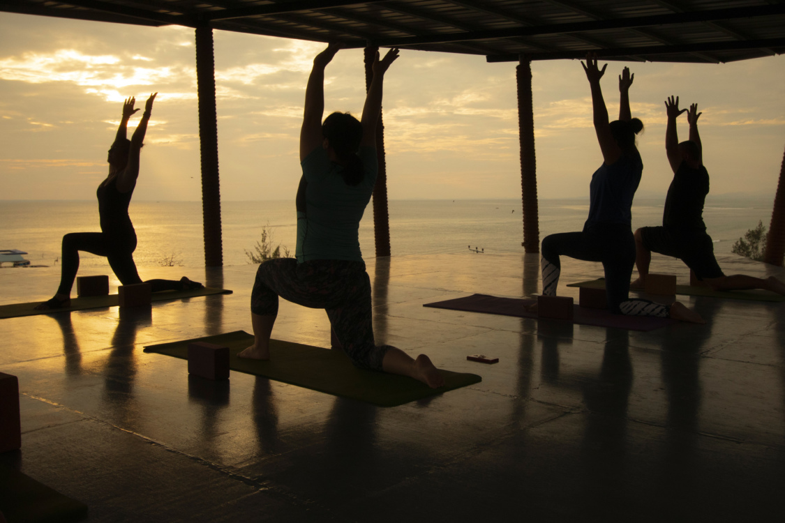 Sunrise Yoga at 9 Huts On A Hill, Kudat