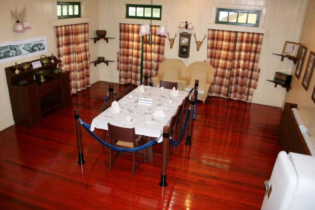 Agnes Keith House - Dining area