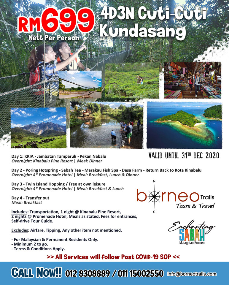Packages with Enchanting Sabah