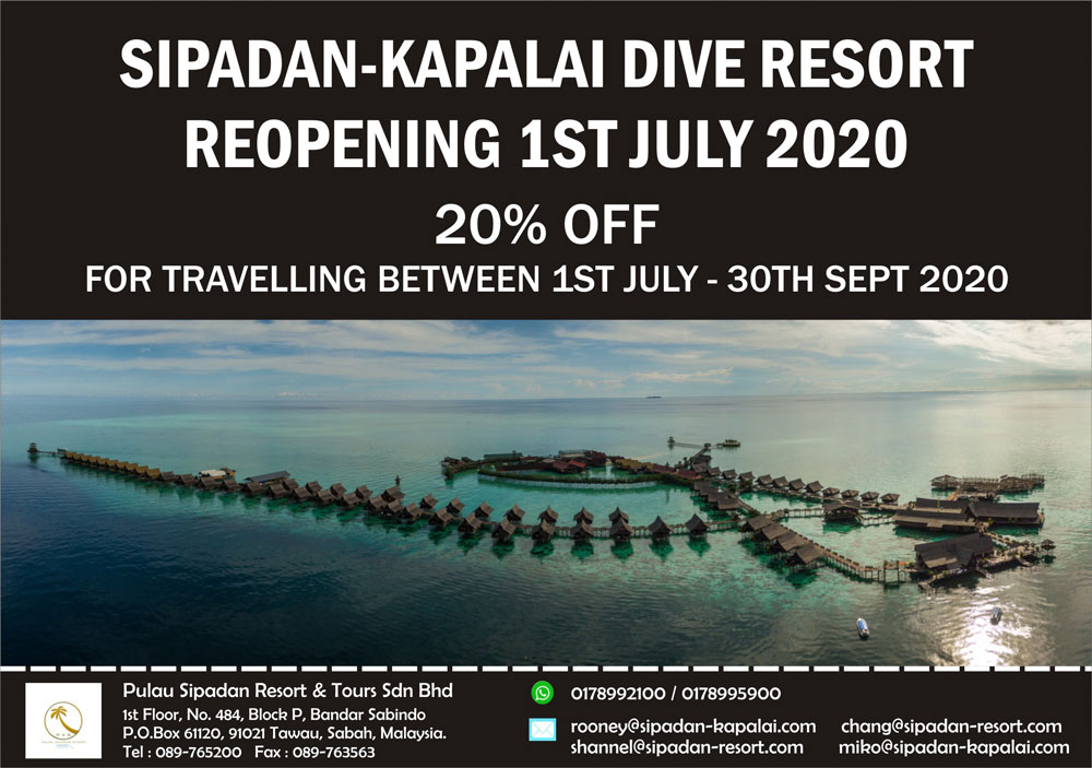 Kapalai-Sipadan Promo Packages