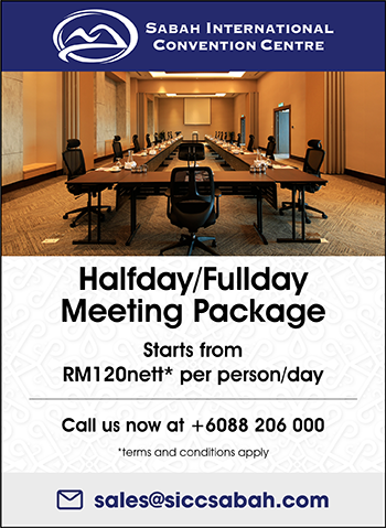 Meeting Packages Starts from RM120nett* per person/day