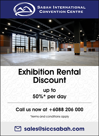 Exhibition Rental Discount up to 50%* per day