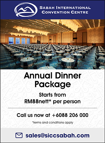 Annual Dinner Package Starts from RM88nett* per person