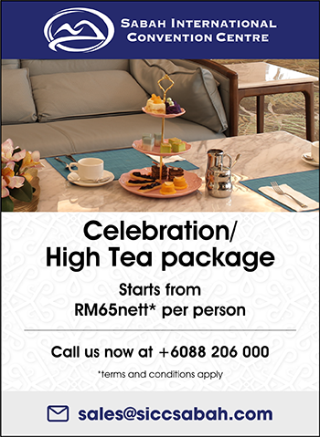 Celebration/High Tea package Starts from RM65nett* per person