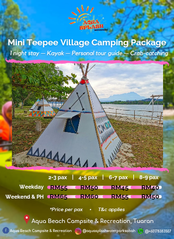 Mini Teepee Village Camping Package