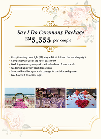 Say I Do Ceremony Package
