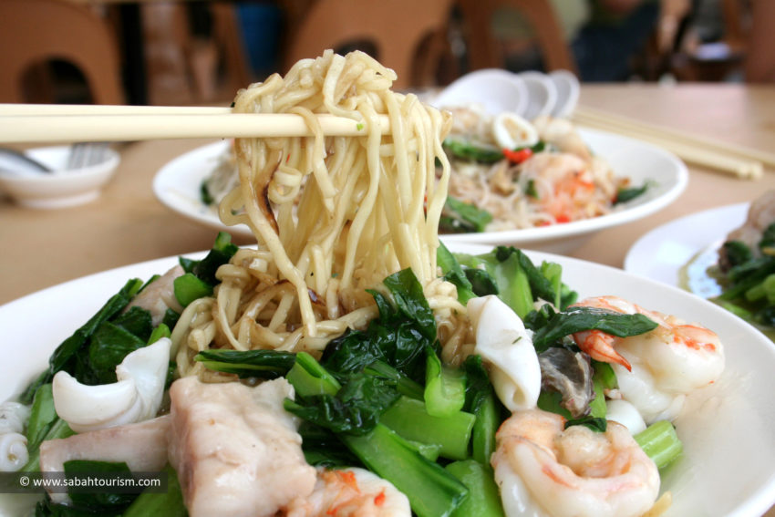 Beaufort Mee with Seafood