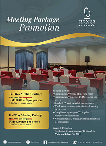 Meeting Package Promotion