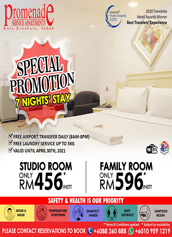 Special Promotion 7 Nights' Stay