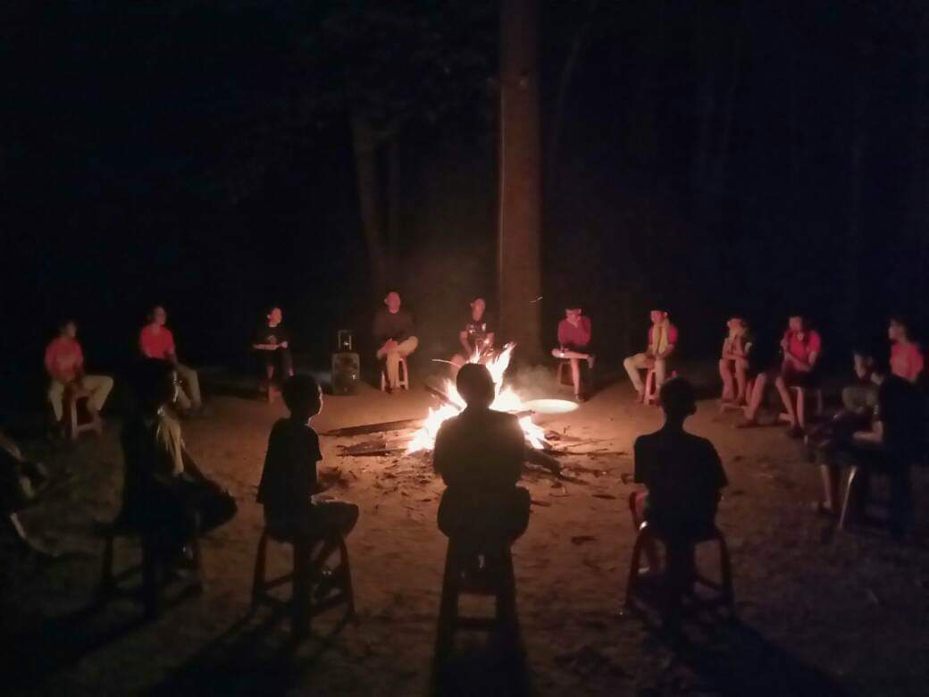 Campfire at Padas Farmstay as part of the highlight. Photo courtesy of TYK Adventures Tours.