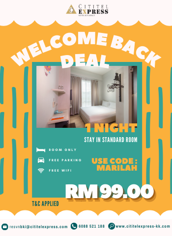 Welcome Back Deal (1 Night)