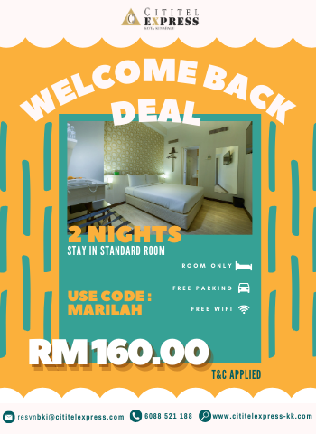 Welcome Back Deal (2 Nights)