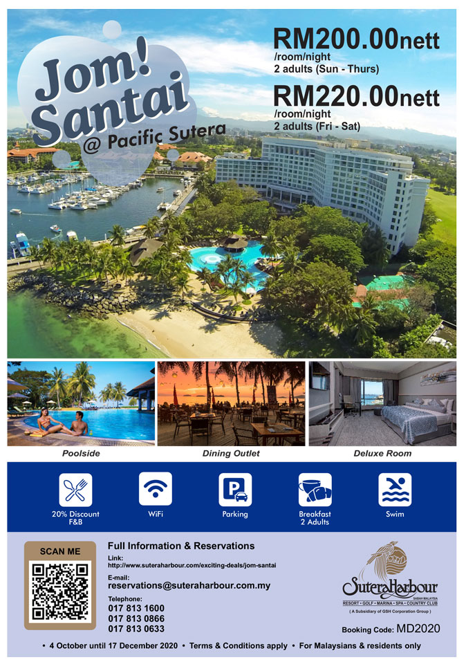 Sutera Staycation Deal