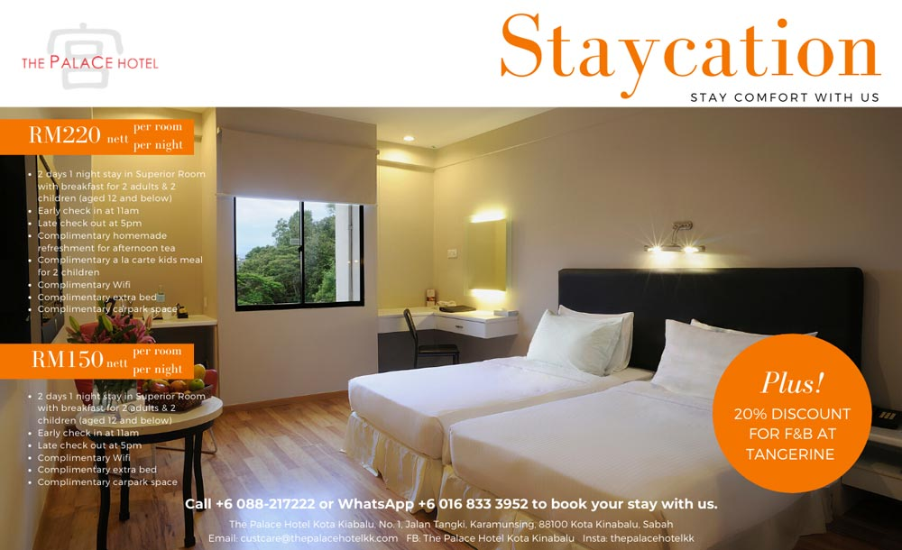 Staycation – Stay comfort with us