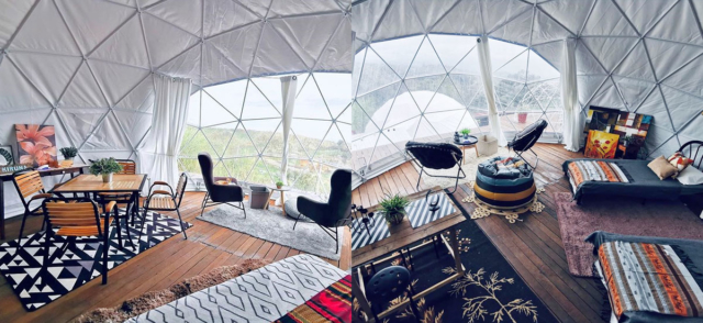 Spend The Night At The First Glamping Dome In Kundasang, Sabah